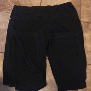 Athletic Works 2x Black Yoga Pants
